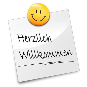 Herzlic willkommen